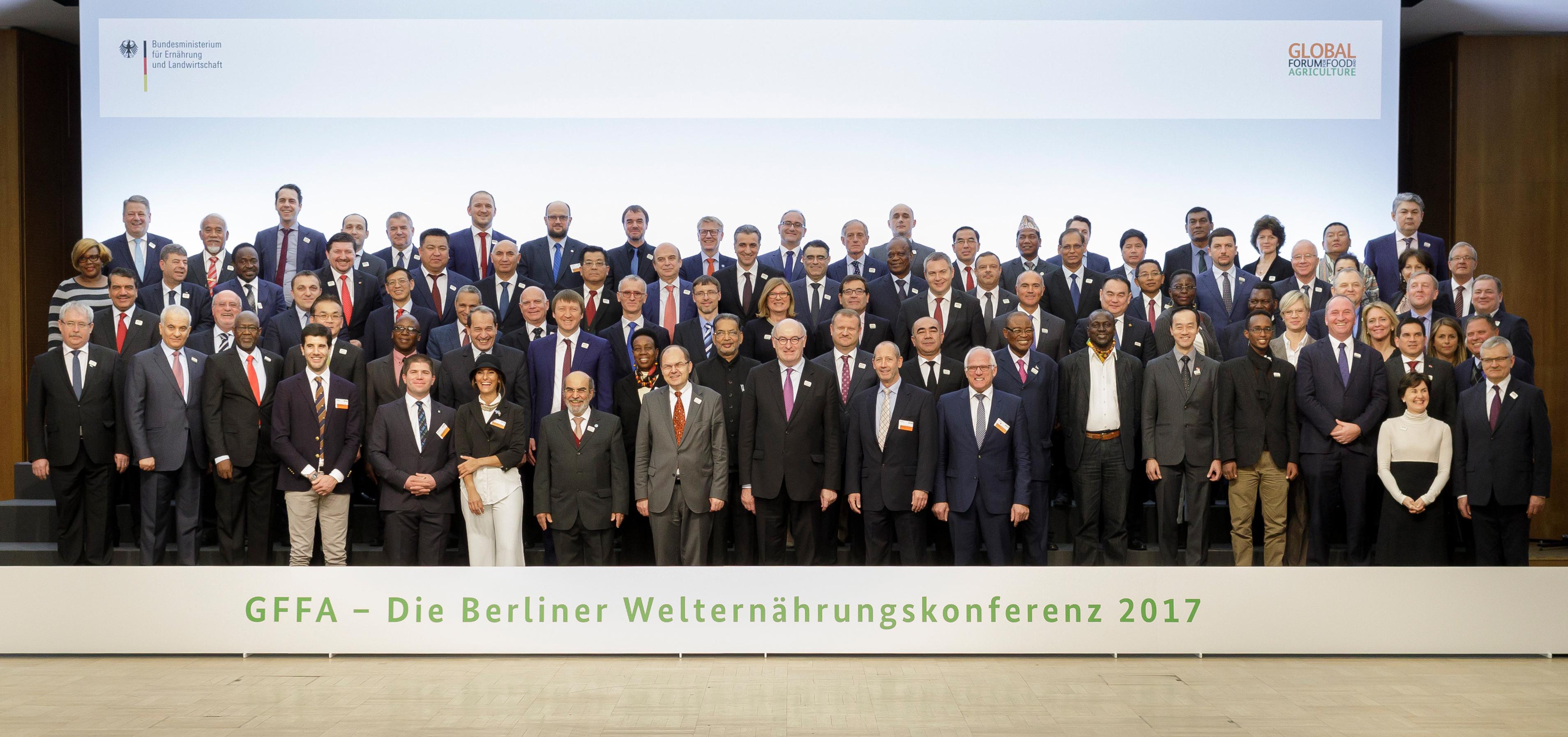 Berliner Agrarministerkonferenz 2017