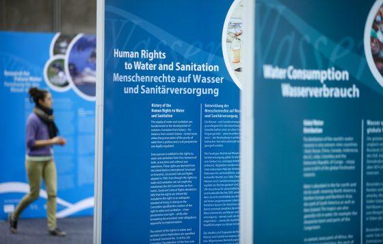 Ausstellung der UNESCO  auf der Kooperationsbörse