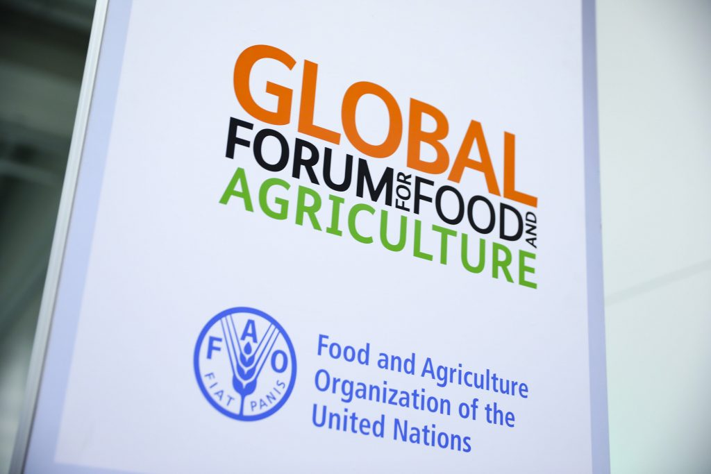 Global Forum for Food and Agriculture GFFA. 20.01.2017, Copyright: BMEL/Thomas Trutschel/photothek.net