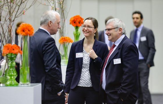 Interessierte auf der Kooperationsbörse 2017