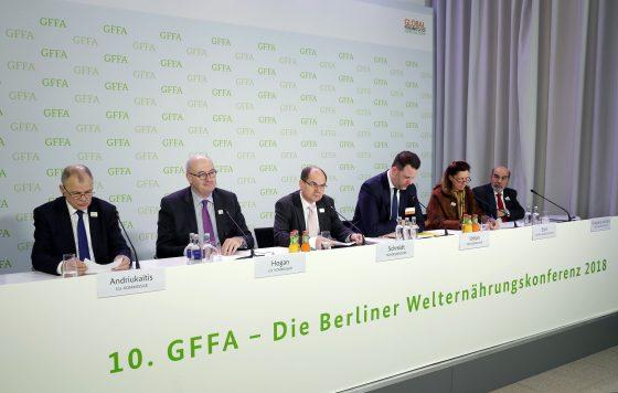 GFFA2018 Berliner Agrarministerkonferenz 20.01.2018